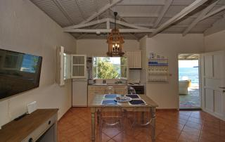 Fishermans Cottage - Living Area & Kitchen
