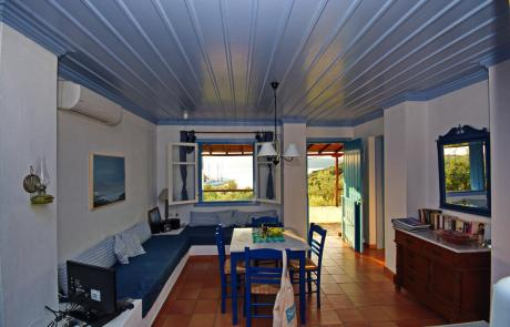 Limani House - Living Area