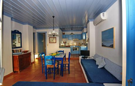 Limani House - Living Area And Kitchen 3