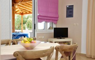 Myrtilos Cottage - Living Area