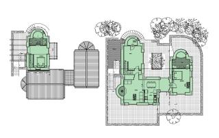 Villa Aquilo - Ground Plan