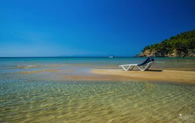 Chrissi Milia Beach