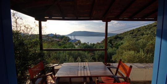 Limani House - Veranda