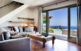 Villa Paparouna - Ground Floor - Living Area