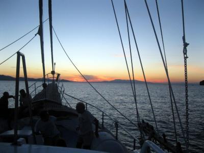 Planitis Cruises - Sunset